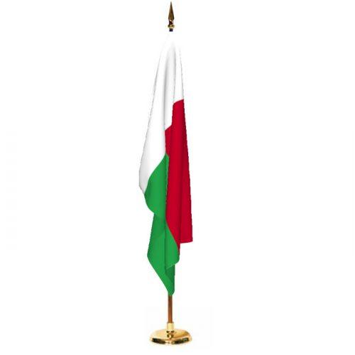 Indoor Madagascar Ceremonial Flag Set