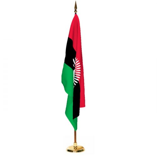 Indoor Malawi Ceremonial Flag Set