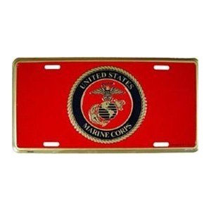 Marine Corps License Plate
