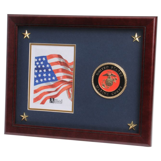 "Military Emblem 5""x7"" Picture Frame"