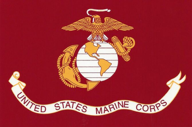 Marine Corps Sticker