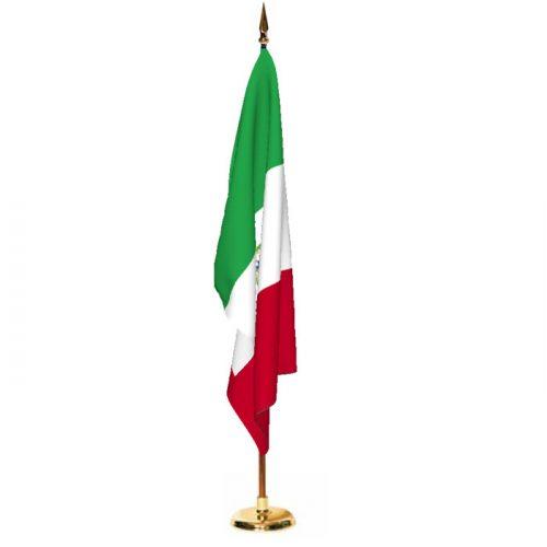 Indoor Mexico Ceremonial Flag Set