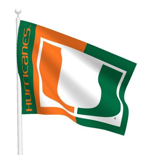 University of Miami Flag