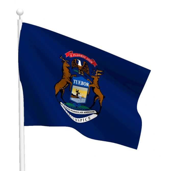 Michigan Flag