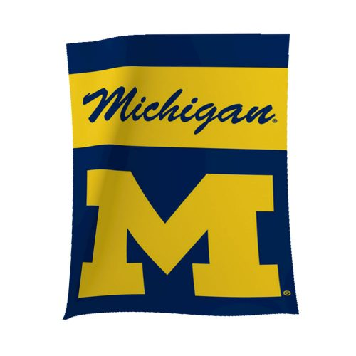 University of Michigan Garden Flag