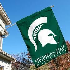 Michigan State University 2 Sided Banner