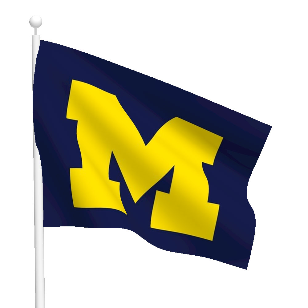 University of Michigan Flag (High-Quality) - Flags International