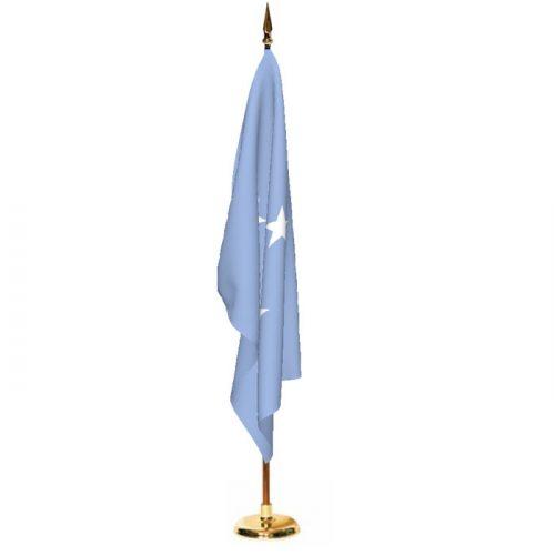 Indoor Micronesia Ceremonial Flag Set
