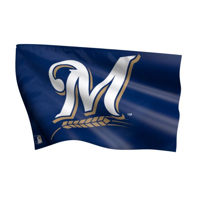 Milwaukee Brewers Flag