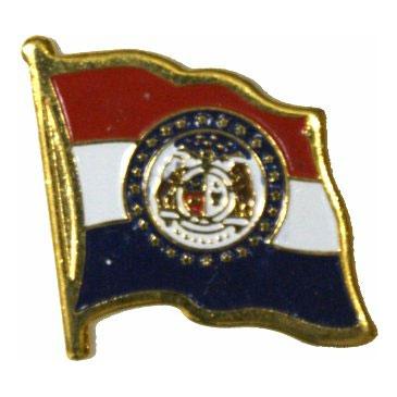Missouri Flag Lapel Pin
