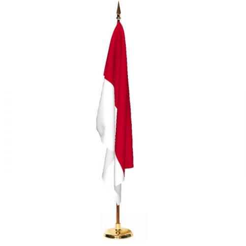 Indoor Monaco Ceremonial Flag Set