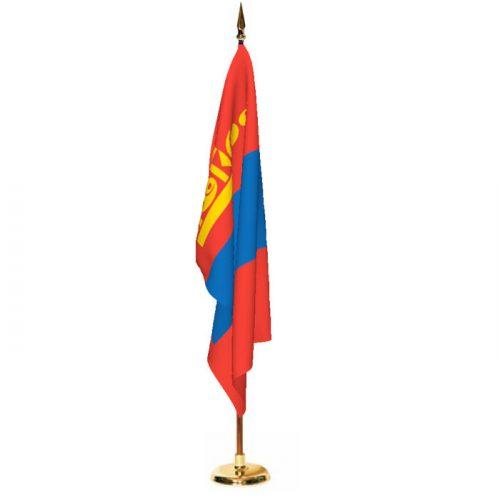 Indoor Mongolia Ceremonial Flag Set