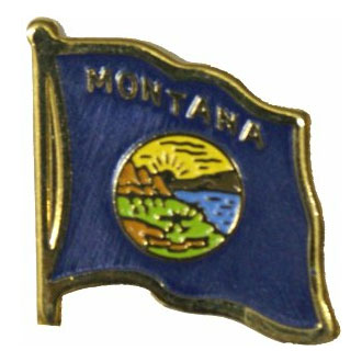 Montana Flag Lapel Pin