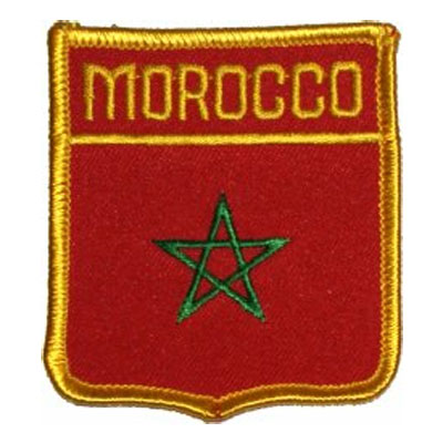 Flag of Morocco Patch