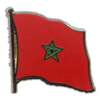 Morocco Flag Lapel Pin
