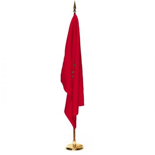 Indoor Morocco Ceremonial Flag Set
