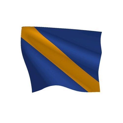 24in x 30in Courtesy Flag