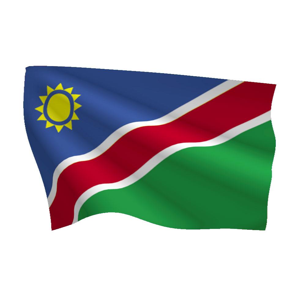 Namibia Flag (Heavy Duty Nylon Flag)