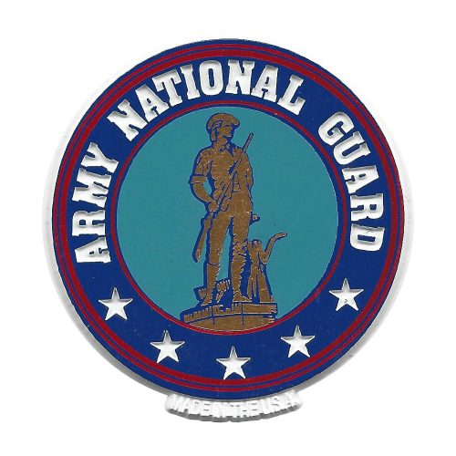 National Guard Seal Magnet