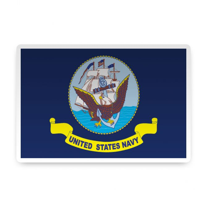 Navy Sticker