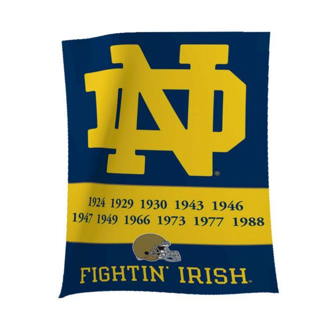 Notre Dame Championship Banner