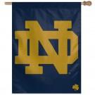 Notre Dame ND Shamrock Banner