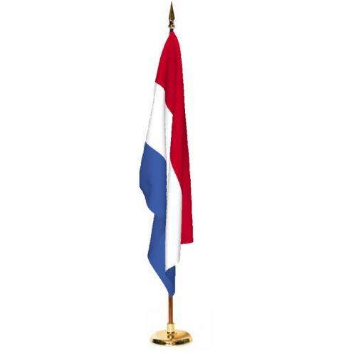 Indoor Netherlands Ceremonial Flag Set