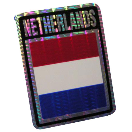Vinyl Metallic Netherlands Decal
