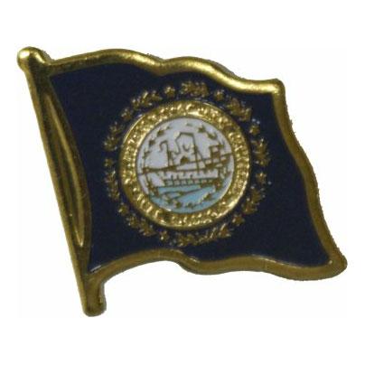 New Hampshire Flag Lapel Pin