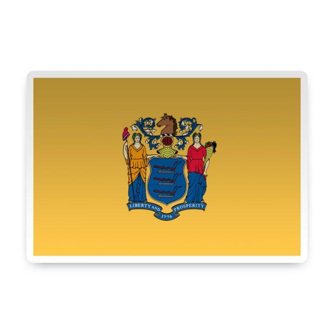 New Jersey Sticker