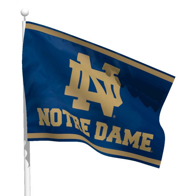 Notre Dame ND Flag