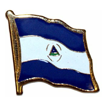 Nicaragua Flag Lapel Pin