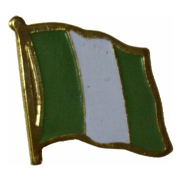 Nigeria Flag Lapel Pin