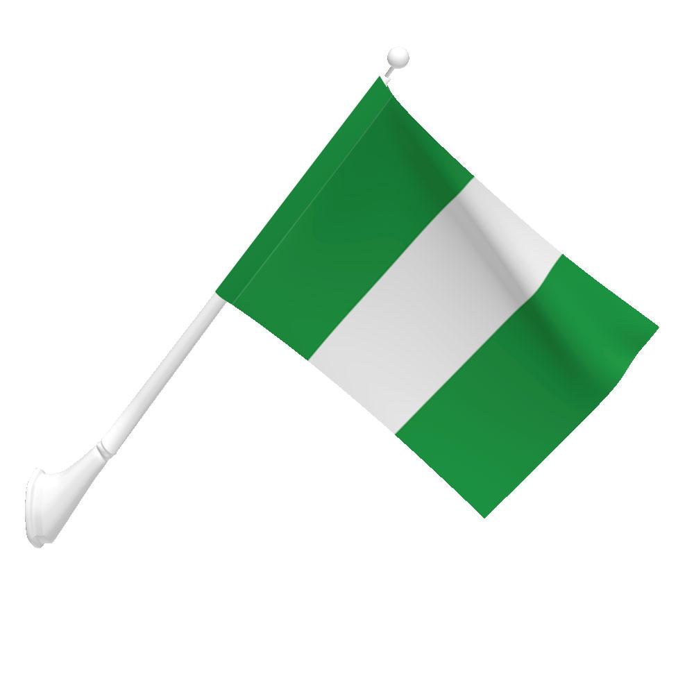 Nigeria Flag Heavy Duty Nylon Flag Flags International