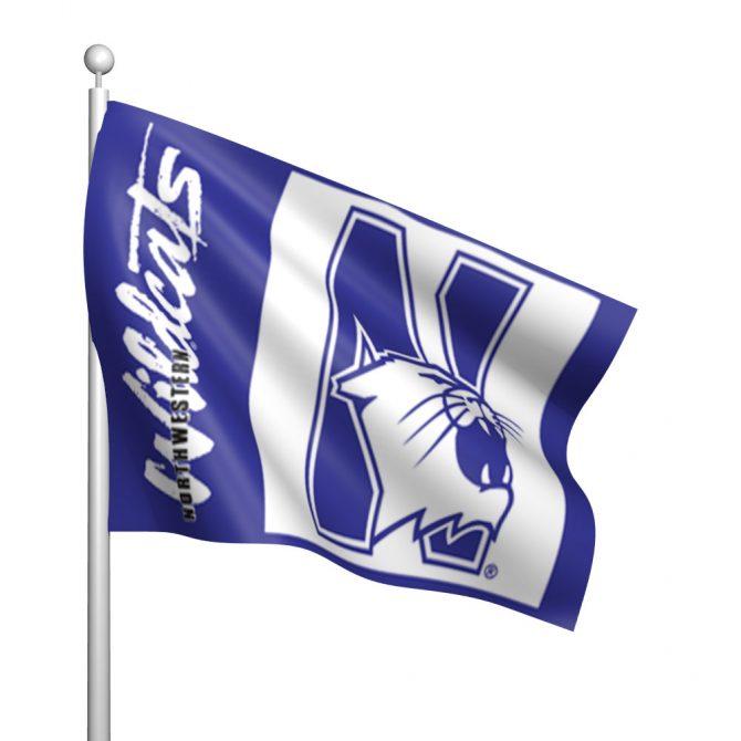 Northwestern University Flag