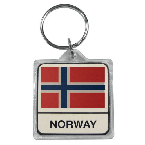 Norway Keychain