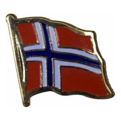 Norway Flag Lapel Pin