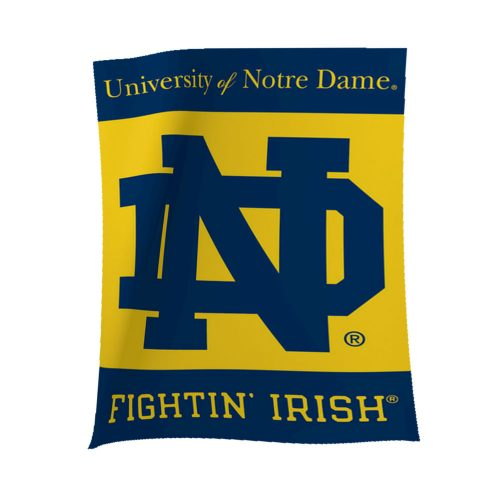 Notre Dame ND Polyester Banner