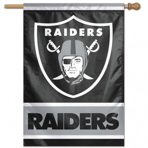 Las Vegas Raiders Banner 28 X40 Flags International