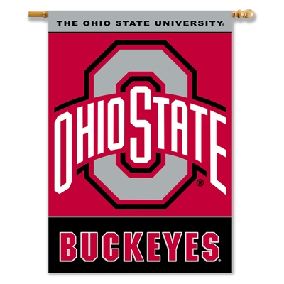 Ohio State University Polyester 2 Sided Banner