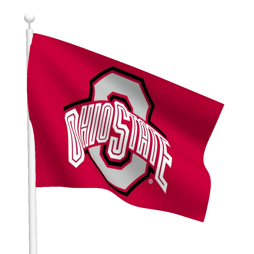 Ohio State University Polyester Flag Flags International