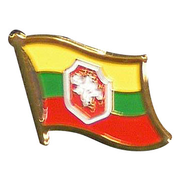 Old Lithuania Flag Lapel Pin