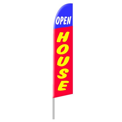 Open House Tall Flag