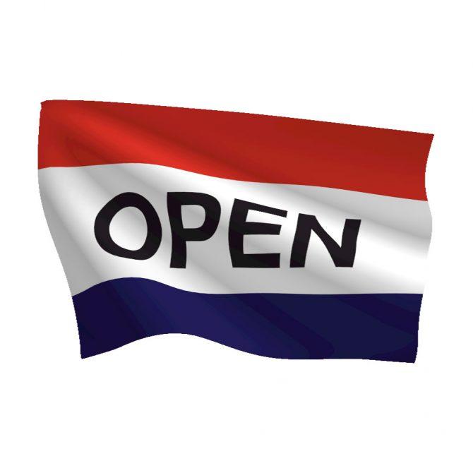 3ft x 5ft Open Message Flag