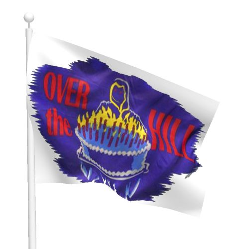Over the Hill Flag