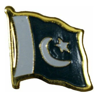 Pakistan Flag Lapel Pin