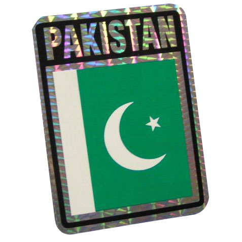 Vinyl Metallic Pakistan Decal