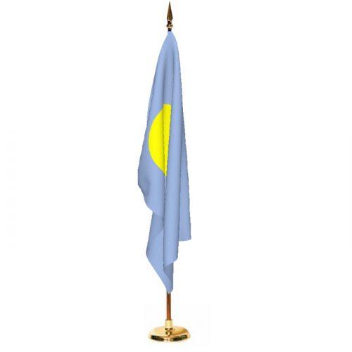 Indoor Palau Ceremonial Flag Set