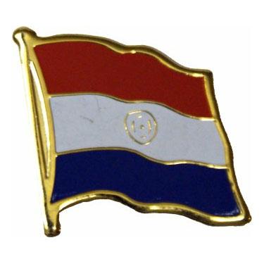 Paraguay Flag Lapel Pin