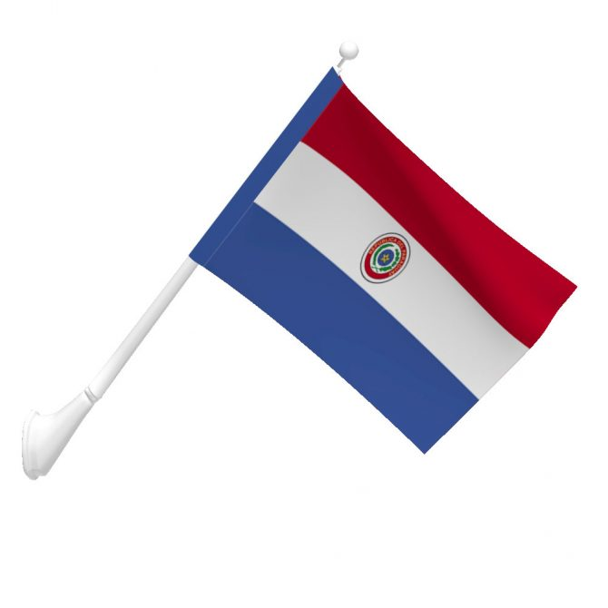 Paraguay Flag
